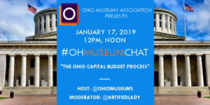 OMA's January #OHMuseumChat